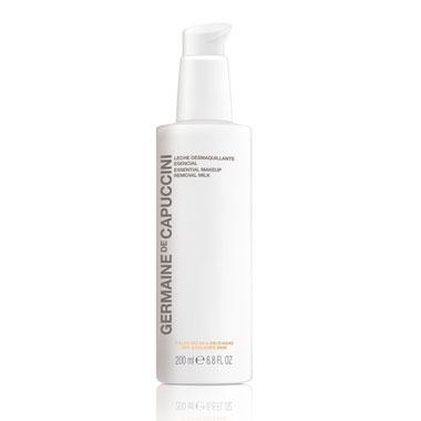Germaine de Capuccini Молочко для Демакияжа Сухой и Чувствительной Кожи Options Essential Makeup Removal Milk, 200 мл