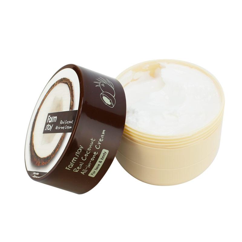 FarmStay Многофункциональный Крем с Кокосом Real Coconut All-in-one Cream, 300 мл