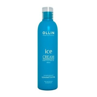 OLLIN PROFESSIONAL ICE CREAM Питательный Шампунь Nourishing Shampoo, 250 мл kaaral maraes color nourishing shampoo питательный шампунь 250 мл