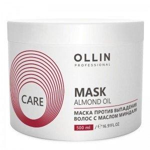 OLLIN PROFESSIONAL CARE Маска Против Выпадения Волос с Маслом Миндаля Almond Oil Mask, 500 мл маска от выпадения волос с витаминами