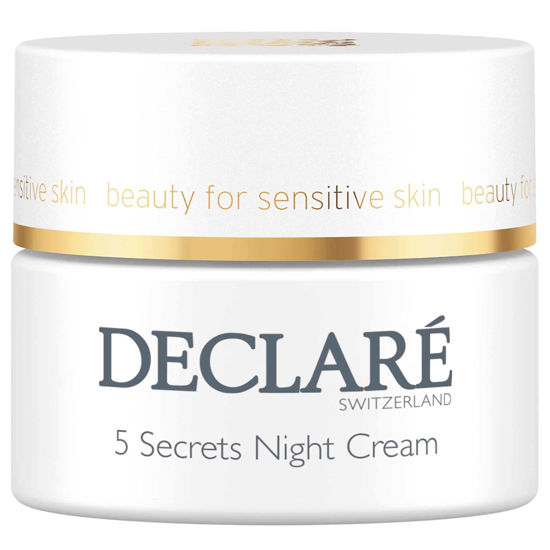 Declare Крем 5 Secrets Night Cream Секретов Ночной Восстанавливающий, 50 мл