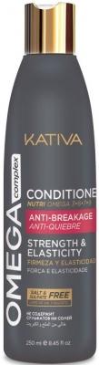 купить Kativa Антистрессовый Кондиционер для Поврежденных Волос Omega Complex, 250 мл по цене 610 рублей