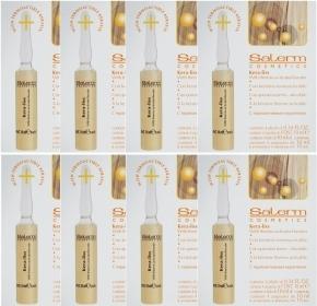 Salerm Cosmetics Лосьон Kera Liss с Восстанавливающим Кератином, (8*4)*10 мл ducray неоптид лосьон от выпадения волос для мужчин 100 мл