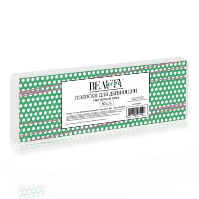 IGRObeauty Бумага в Полосках для Депиляции, Белая  7х22 см.  IGRO-100W, 50 шт
