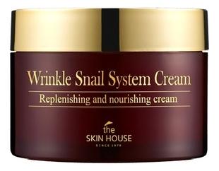 The Skin House Антивозрастной Крем на Основе Муцина Улитки Wrinkle Snail System, 100 мл snail крем