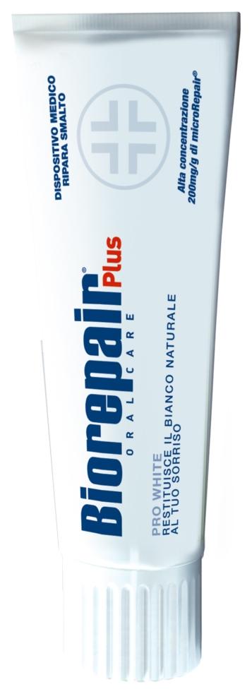 BIOREPAIR Pro White Plus Зубная Паста Сохраняющая Белизну, 75 мл