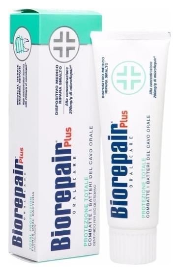 BIOREPAIR Total Protective Repair Зубная Паста для Комплексного Восстановления и Защиты, 75 мл