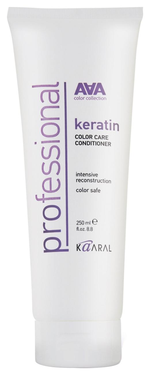 Kaaral Кондиционер Кератиновый для Восстановления Окрашенных и Химически Обработанных Волос Keratin Color Care Conditioner, 250 мл