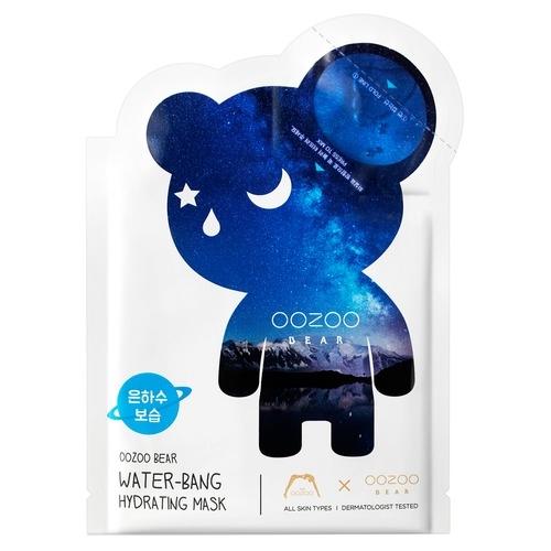 The OOZOO Двухфазная Маска Мишка УЗУ Млечный Путь для Глубокого Увлажнения Bear Water-Bang Hydrating Mask, 1 шт*3 мл+20 мл цена