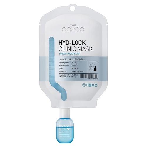 The OOZOO Маска-Капельница Двойное Увлажнение Hyd-Lock Clinic Mask, 1 шт*22 мл+5 мл цена