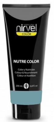 Nirvel Professional Гель-Маска Nutre Color Turquoise Цвет Бирюзовая, 200 мл