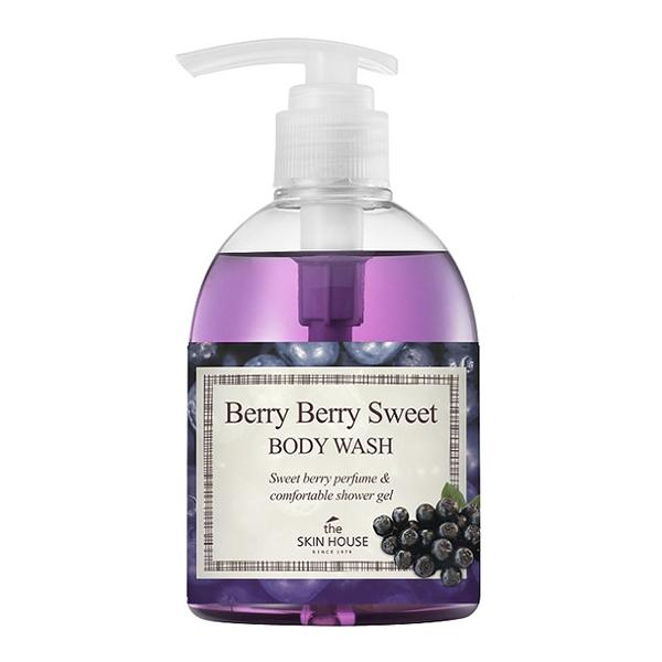 The Skin House Гель для Душа с Экстрактом Ягод Berry Berry Sweet Body Wash, 300 мл цены онлайн