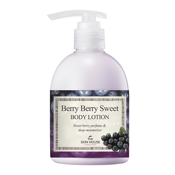 The Skin House Лосьон для Тела с Экстрактом Ягод Berry Sweet Body Lotion, 300 мл