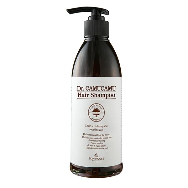 The Skin House Шампунь для Волос с Экстрактом Ягод Каму-Каму Dr.Camucamu Hair Shampoo, 400 мл цена