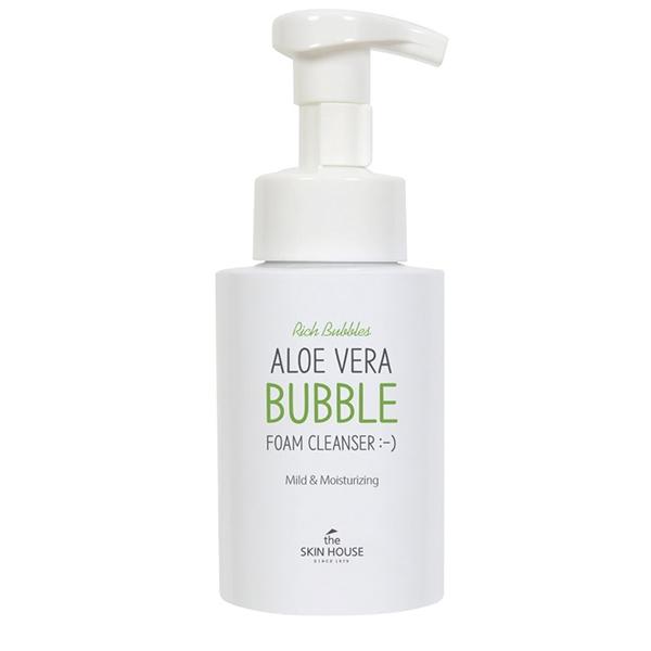 The Skin House Пенка для Умывания с Экстрактом Алоэ Aloe Vera Bubble Foam Cleanser, 300 мл цена