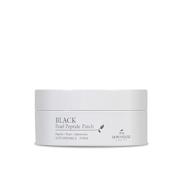 The Skin House Гидрогелевые Патчи с Пептидами и Экстрактом Чёрного Жемчуга Black Pearl Peptide Patch, 60 шт