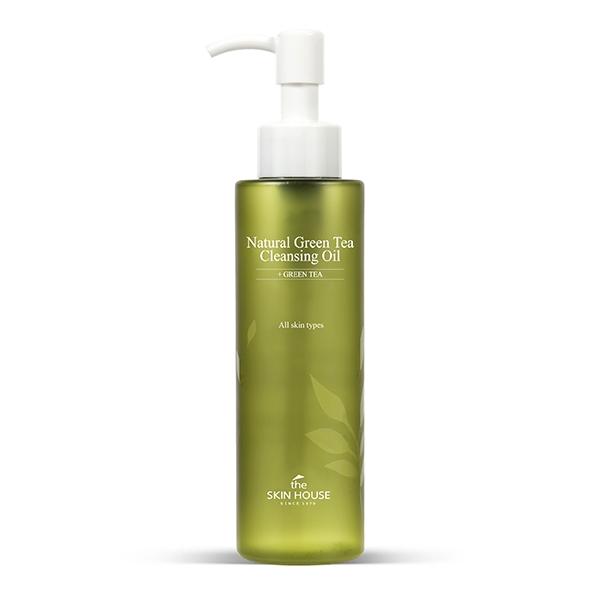 The Skin House Гидрофильное Масло с Экстрактом Зелёного Чая Natural Green Tea Cleansing Oil, 150 мл все цены
