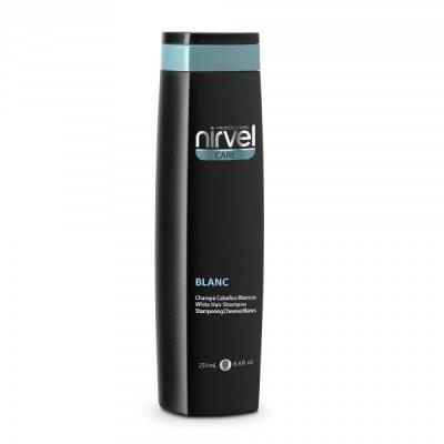 Nirvel Professional Шампунь Blanc Shampoo для Осветленных и Седых Волос, 250 мл nirvel professional сухой шампунь для волос dry shampoo 300 мл