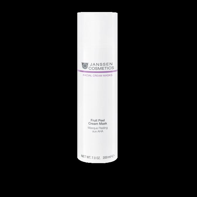 Janssen Очищающая Крем-Маска с AHA-Кислотами Fruit Peel Cream Mask, 200 мл