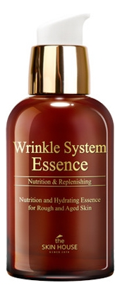The Skin House Эссенция Wrinkle System Антивозрастная с Коллагеном, 50 мл эмульсия the skin house wrinkle system wrinkle collagen emulsion для лица 130 мл