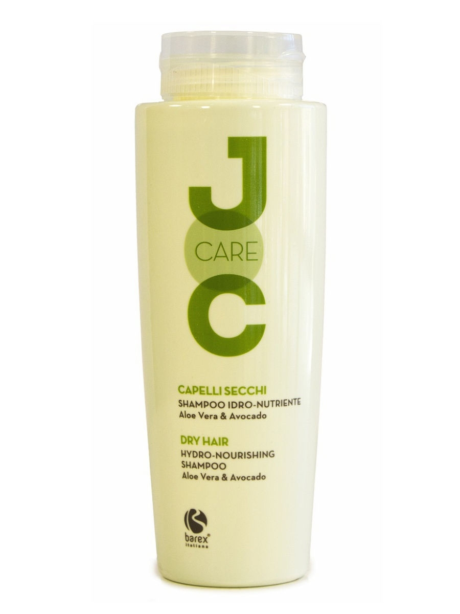 Barex Шампунь JOC Hydro-nourishing Shampoo для Сухих Волос с Алоэ Вера и Авокадо, 250 мл