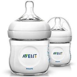 AVENT Philips Бутылочка для Кормления 125 мл, 0 мес.+ 2 шт