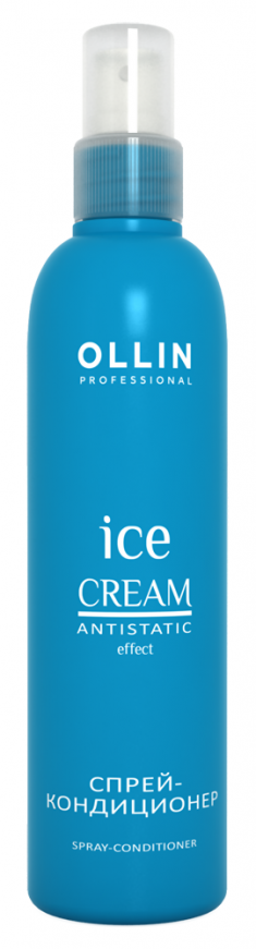 OLLIN PROFESSIONAL ICE CREAM Спрей-Кондиционер Spray-Conditioner, 250 мл