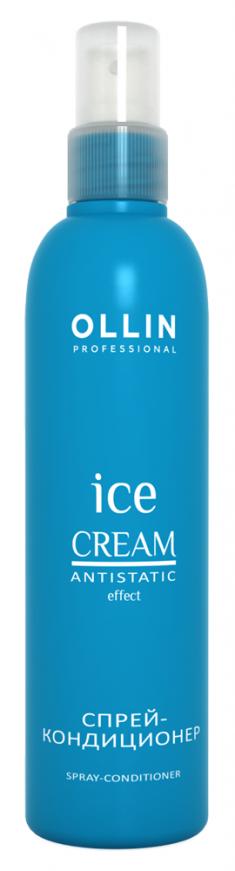 OLLIN PROFESSIONAL ICE CREAM Спрей-Кондиционер Spray-Conditioner, 250 мл кондиционер ollin professional ice cream nourishing conditioner объем 250 мл