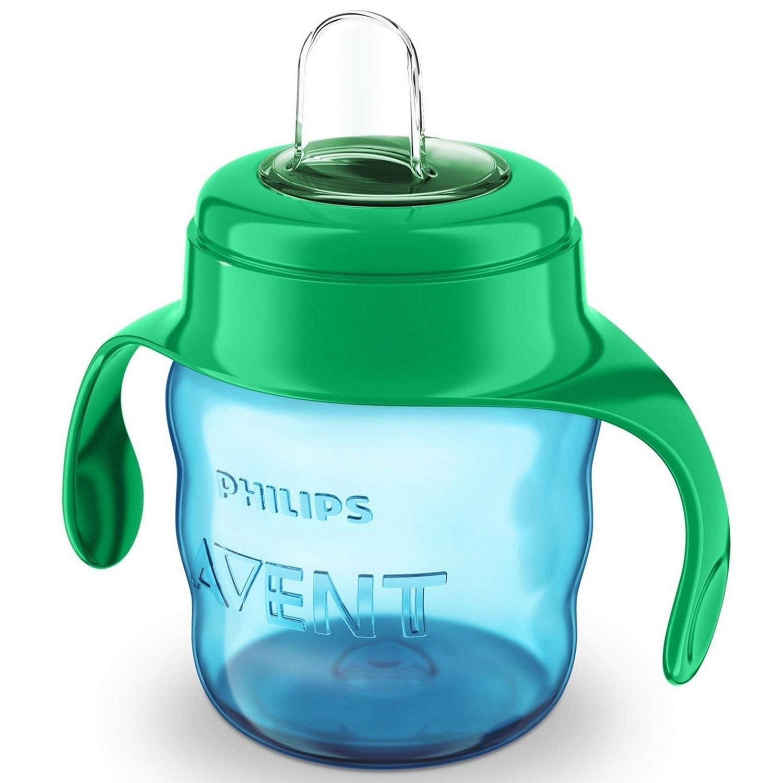 AVENT Philips Чашка-Поильник (200 мл, 6 мес+) Голубая Comfort