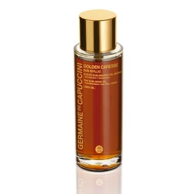 Germaine de Capuccini Сухое Масло для Поддержания Идеального Загара Golden Caresse Sun Idyllic Tan Subliming Oil, 100 мл сухое масло 60 мл