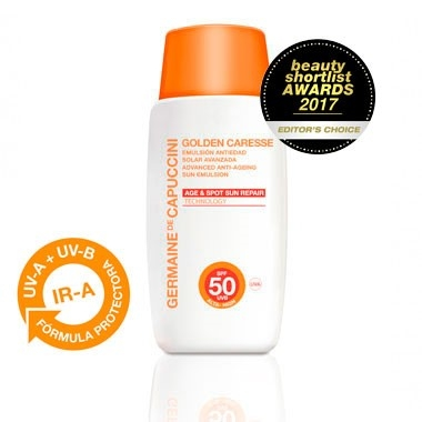 Germaine de Capuccini Эмульсия Антивозрастная Golden Caresse Advanced Anti-Ageing Sun Emul SPF30, 50 мл