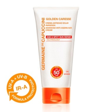 Germaine de Capuccini Крем Усиленный Солнцезащитный Антивозрастной SPF50+ Golden Caresse Advanced Anti-Ageing Sun Cr., 50 мл