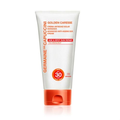 Germaine de Capuccini Крем Усиленный Солнцезащитный Антивозрастной SPF30 Golden Caresse Advanced Anti-Ageing Sun Cr.SPF30, 50 мл цены