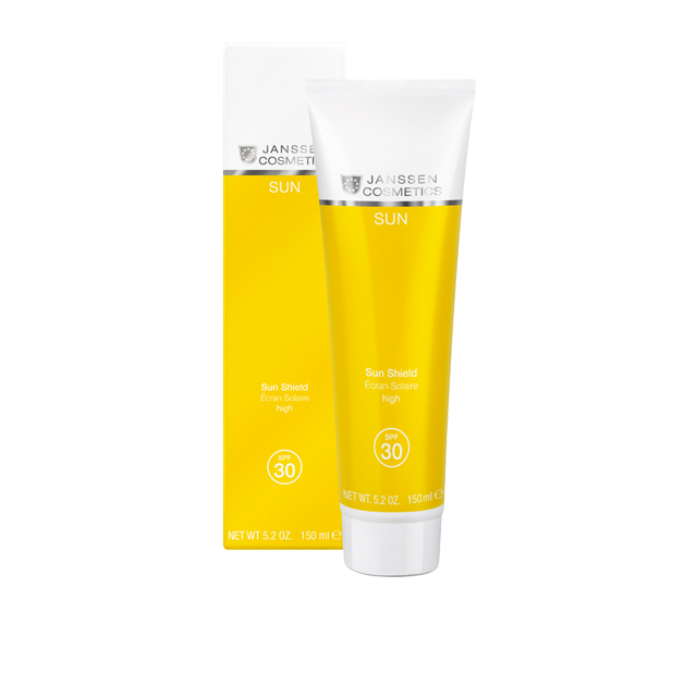 Janssen Эмульсия Sun Shield SPF 30 Солнцезащитная для Лица и Тела Spf 30, 150 мл biosolis sun milk spf 30 солнцезащитное молочко для лица и тела spf 30 100 мл