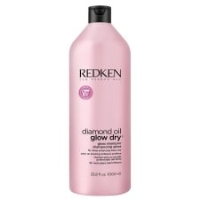 REDKEN Шампунь Diamond Oil Glow Dry Shampoo Даймонд Оил Глоу Драй, 1000 мл diamond oil glow dry gloss скраб 150 мл redken diamond oil