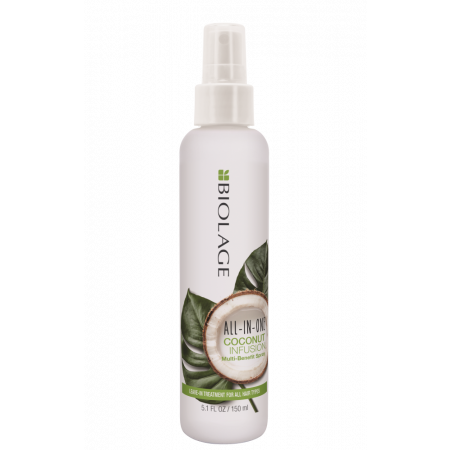 MATRIX Спрей Matrix Biolage All In One Coconut Spray Несмываемый Многофункциональный, 150 мл