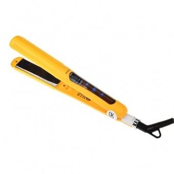 Global Keratin Утюг Цифровой/Digital Touch Titanium Flat Iron EU Plug (Титановое Покрытие) camera battery charger cradle for jvc v408u v416u v428u ac 100 240v 2 flat pin plug