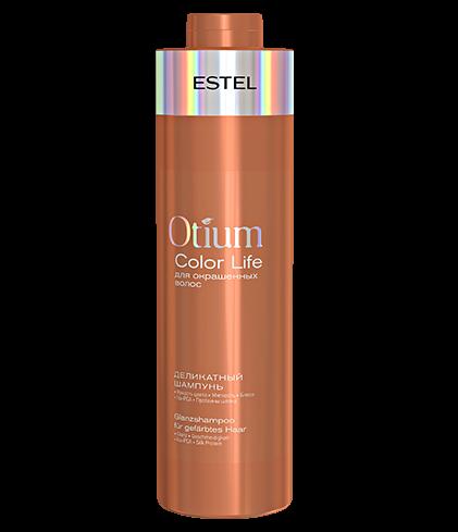 ESTEL Шампунь Otium Color Life Деликатный для Окрашенных Волос, 1000 мл estel color life бальзам сияние для окрашенных волос 1000 мл