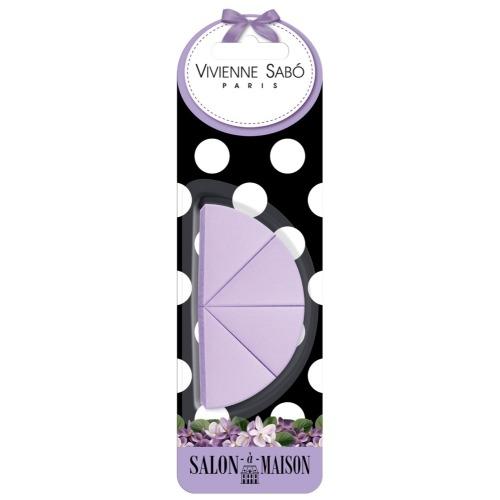 Vivienne Sabo Набор Triangular Makeup Sponges Set Треугольных Спонжей для Макияжа, 4 шт недорого