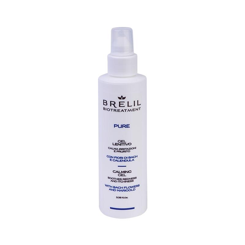 Brelil Professional Гель Успокаивающий Bio Treatment Pure, 100 мл гель brelil professional berries precision shaving gel 100 мл