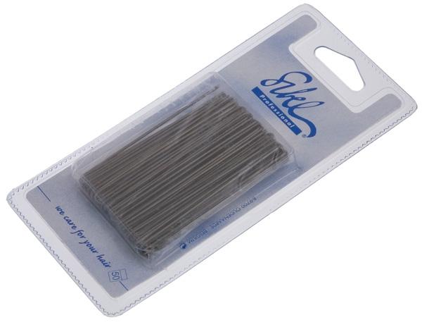 Sibel Шпильки Гладкие 70 мм Коричневые, 50 шт