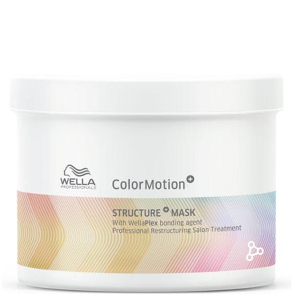 Wella Professional Маска Color Motion для Интенсивного Восстановления Окрашенных Волос, 500 мл wella бальзам ополаскиватель colour для окрашенных волос 500 мл