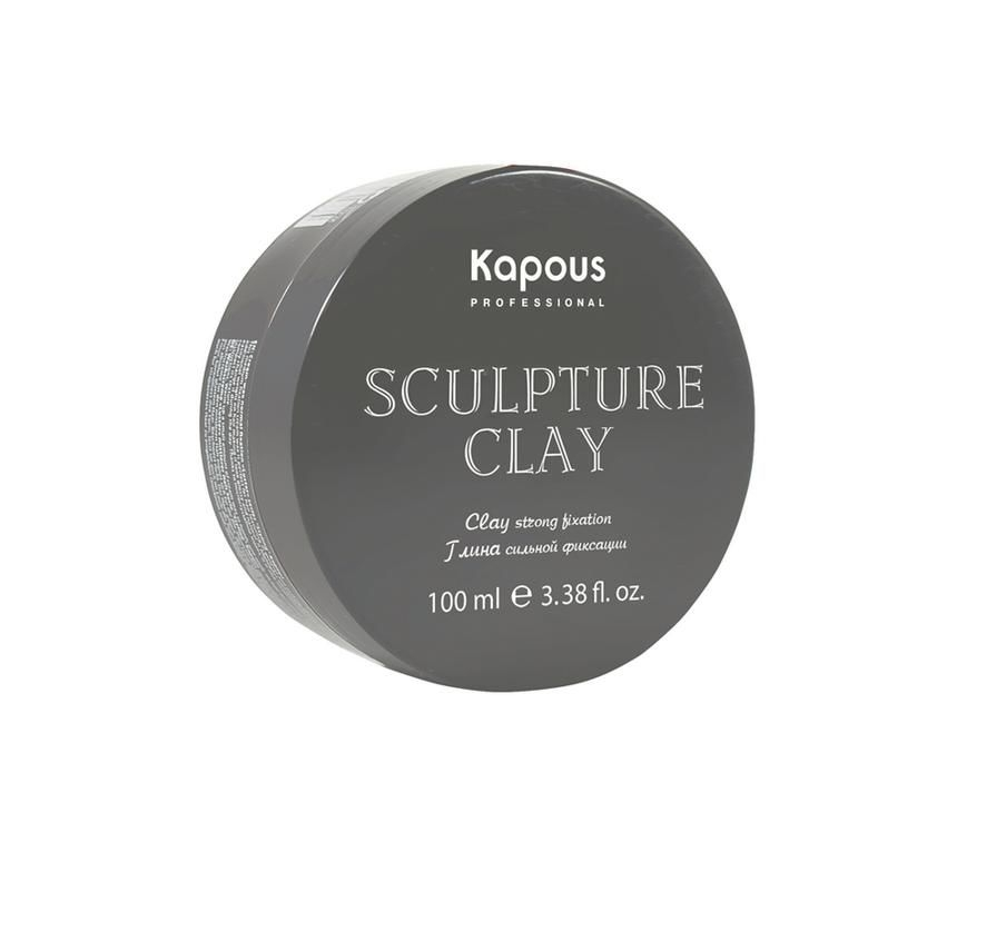 Kapous Глина для Укладки Волос Нормальной Фиксации Sculpture Clay, 100 мл