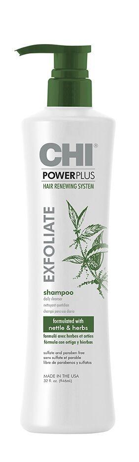 CHI Шампунь Отшелушивающий Power Plus, 946 мл chi очищающий шампунь для всех типов волос 946 мл