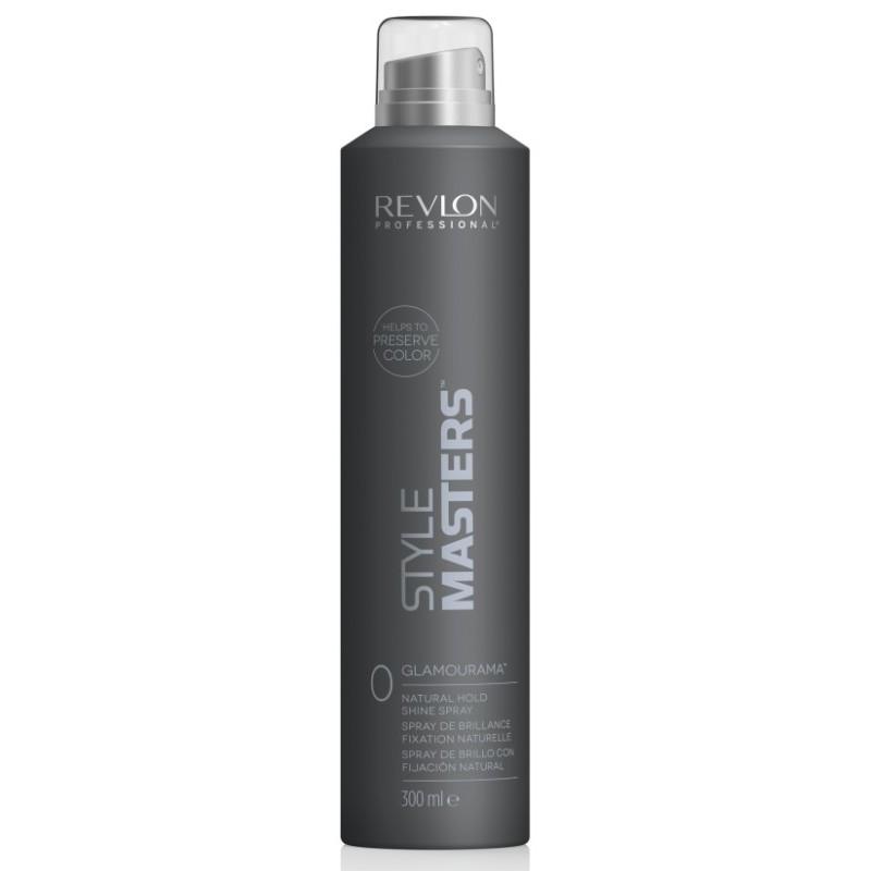 REVLON Спрей Style Masters Shine Spray Glamourama Естественная Фиксация и Ультраблеск, 300 мл
