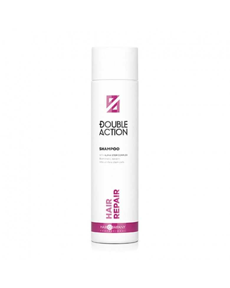 HAIR COMPANY Шампунь восстанавливающий  Double Action REPAIR SHAMPOO, 250 мл
