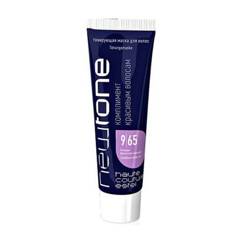 ESTEL Маска для Волос Тонирующая Newtone 9/65 Блондин Фиолетово-Красный, 60 мл
