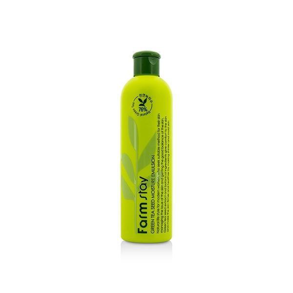 FarmStay Эмульсия Увлажняющая с Семенами Зеленого Чая Green Tea Seed Moisture Emulsion, 300 мл цена