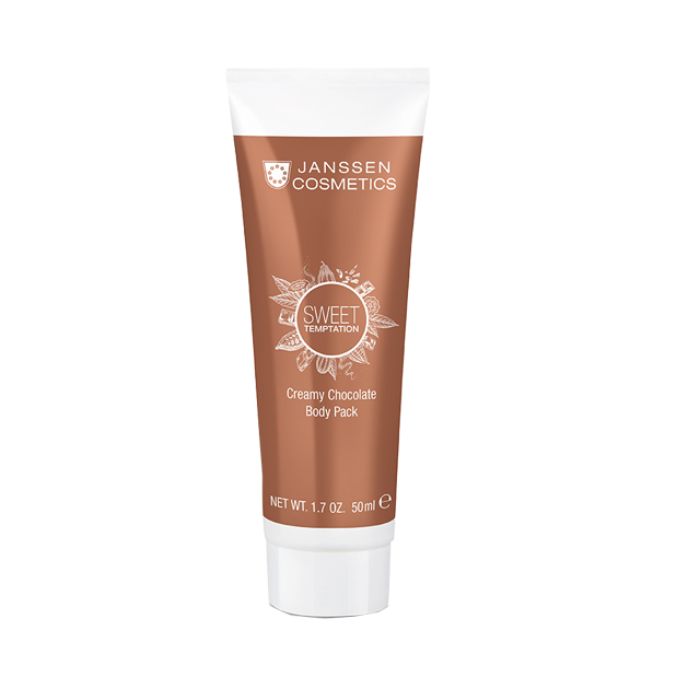 Janssen Обертывание Creamy Chocolate Body Pack Корректирующее Кремовое Шоколад, 50 мл корректирующее боди lisca