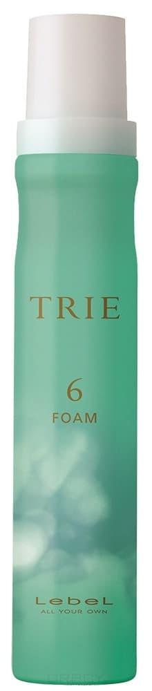 Lebel Cosmetics TRIE FOAM 6 Пена для укладки волос средней фиксации, 200 мл lebel cosmetics эмульсия для волос серии trie trie move emulsion 8 50г